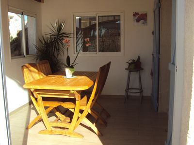Photo for Nice house in quiet residence with swimming pool in VIC LA GARDIOLE