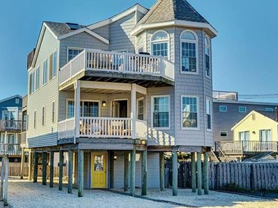 Photo for Ocean & Bay Views, 5 Decks, Steps to Beach!  *NEW* to rentals