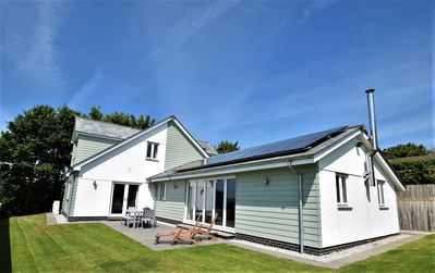 Photo for Fabulous secluded modern home-Sleeps 8-Stunning views-5 Mins to Bude/beaches