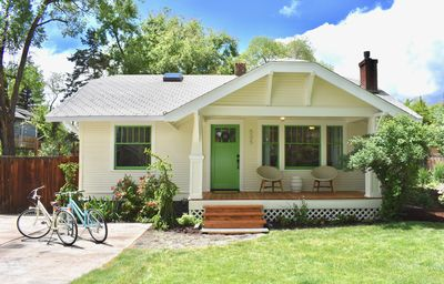 Photo for Bluebird Day - Star Cottage - Hot tub, Bikes, Pet friendly, Walk Downtown