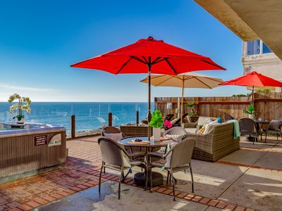 Photo for Single family 8br, 6.5ba home on the ocean,Designer Decorated & A/C
