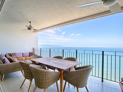Photo for Gorgeous Ocean View Condo | Spacious, Great for Families, Pools, Gym