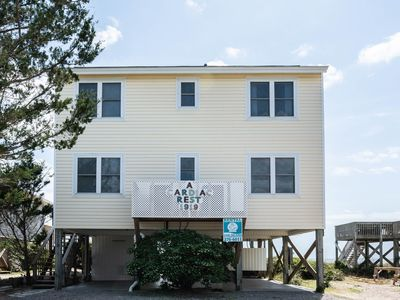 Photo for A Cardiac Rest: 4 Bed/2 Bath Oceanfront Home with Spacious Oceanfront Decks