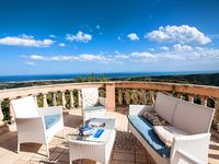 Beautiful location with stunning views from the terraces
