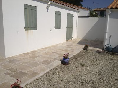 Photo for Charming house located 30 meters from the beach and 300 meters from the port of La Flotte