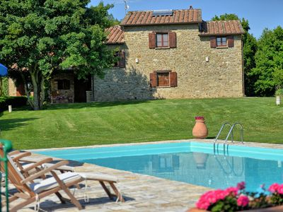 Photo for Villa in Monterchi with 4 bedrooms sleeps 8