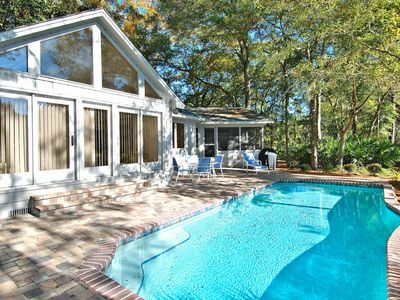Photo for 3 bedroom, 3 baths, single home located in a quiet corner of Hilton Head.
