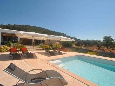 Photo for A paradise in Ibiza, home of 4 bedrooms. 8-9 pax.