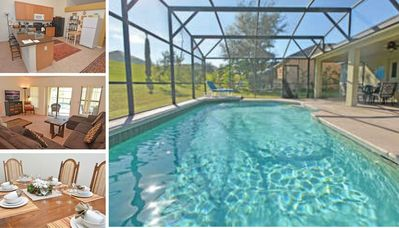 Spacious Pool Home with Two Master Suites Close to Attractions