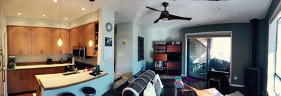 Kitchen/living room pano