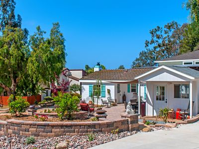 Photo for Private Cottage! Easy Walk Through The Park To Encinitas And Moonlight Beach.