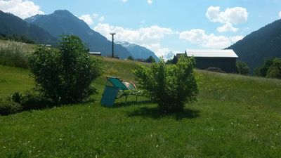Photo for Sunny, quiet location overlooking the beautiful Montafon Mountains