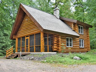 Photo for Beautiful Log Cabin Vacation Rental