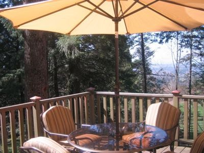 Photo for Beautiful Forested Loft in Nw Hills Secluded Yet Close to Town