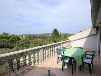 Photo for Two bedroom apartment with terrace Muline, Ugljan (A-8521-b)