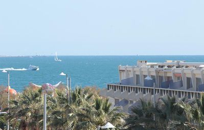 Photo for T 2 Apartment of 40 m² in residence with pool side view sea.