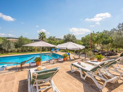 Photo for MURTERA- country house of Majorcan style FOR 10 people, situated near Manacor