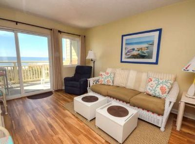 Photo for Aah, Awesome-OIBV 106-2 Story, Ocean Front Condo on Caswell Beach-2 Bdrm/2.5 Bath/Sleeps 5
