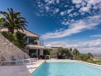 Photo for Villa **** sea view panoramic Issambres