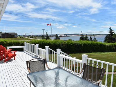 Photo for Waterfront North Rustico with a million dollar view & discounted 2020 rate!