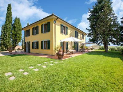 Photo for Lovely Holiday Home in Orciatico with Swimming Pool