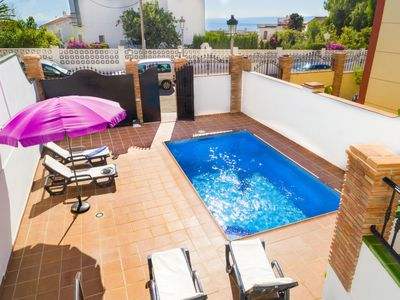 Photo for Vacation home Calas in Nerja - 6 persons, 3 bedrooms