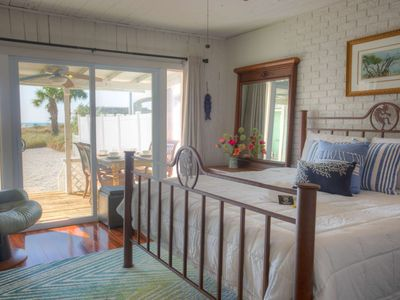 Photo for Fully Equipped Cottage Directly on the Beach!  Comfort and an Unbeatable Location.