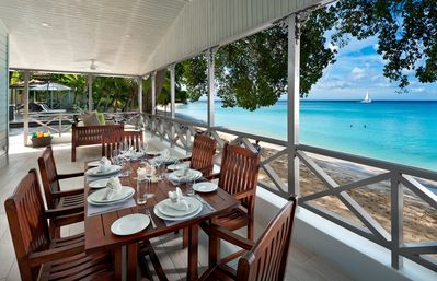 Photo for La Lune - beachfront - Beach Front - Barbados