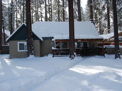 Photo for Lake Tahoe House--Walk to the Beach! Minutes from Skiing--Newly Remodeled