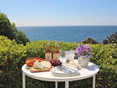 Photo for STUDIO, with a garden in Polperro, Ref 959308