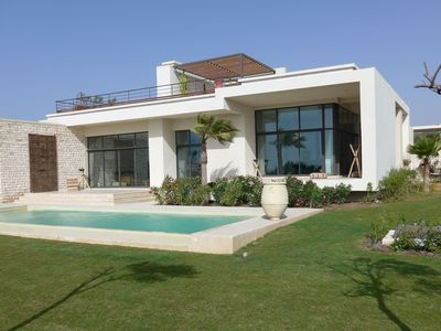 Photo for Exceptional villa of 400m2 with private heated pool and its domestic employee