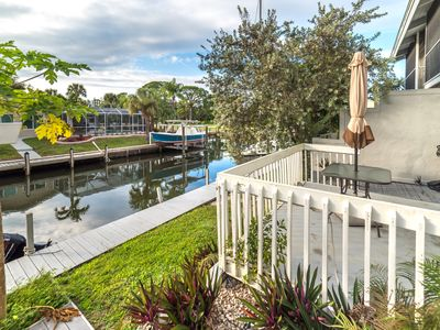 Photo for Boat Dock, Gorgeous 2 Bedroom Condo, Water Views, Close To Englewood Beach