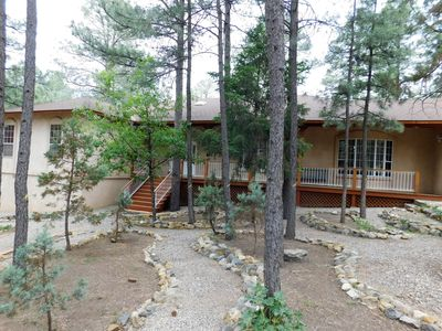 Photo for Perfect Mountain Retreat: 4 Bed/4 Bath, Large home,Central AC/Heating, Hot Tub,