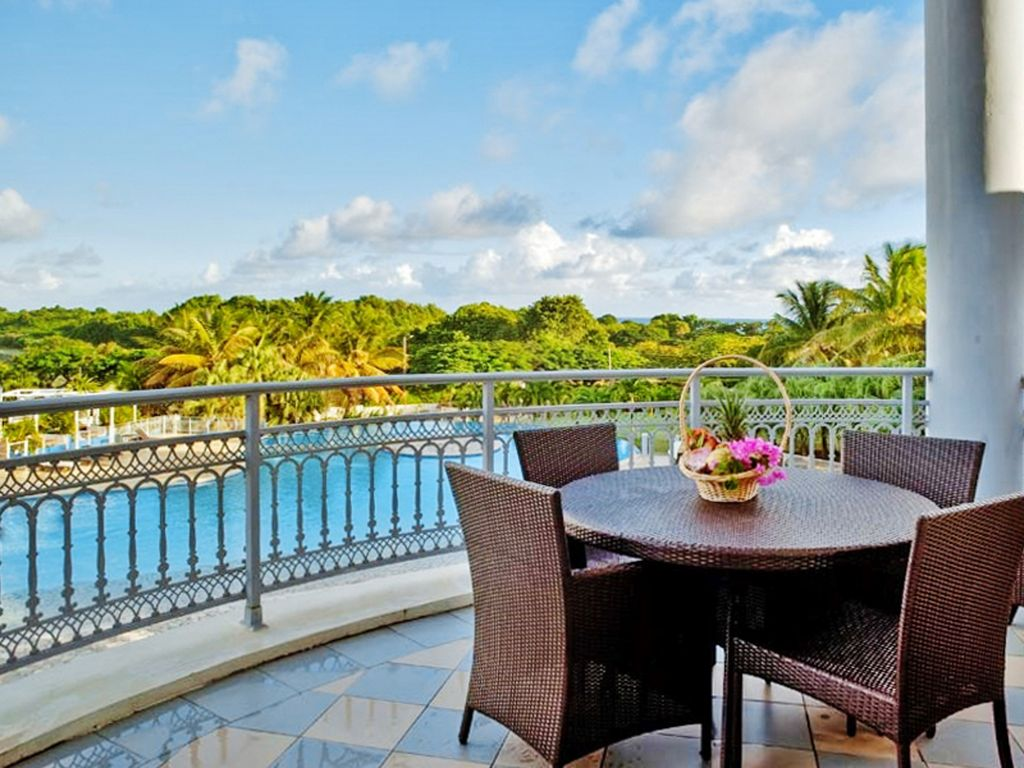Luxury Studio In Guadeloupe With Private Balcony And Access To Pool And Spa  Luxury Studio W