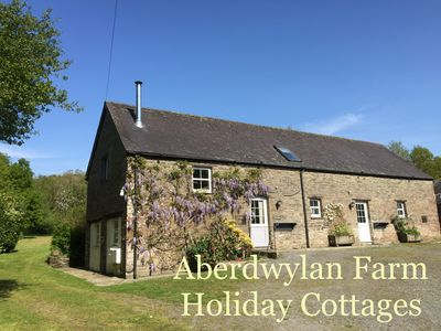 Photo for The Barn at Aberdwylan Farm Holiday Cottages