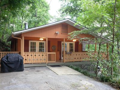 Photo for Fabulous Mountain Chalet Nestled Among The Treetops Only 5 Mins to DT Asheville!