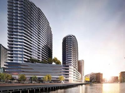 Photo for JC Waterfront Apartment at Docklands **FREE: Parking/Wifi/TramZone/Netflix