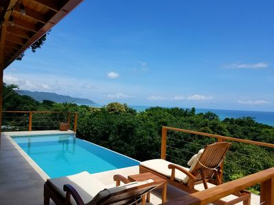 Photo for Beautiful Villa With Infinity Pool and Breathtaking Panoramic Views - Casa Mango