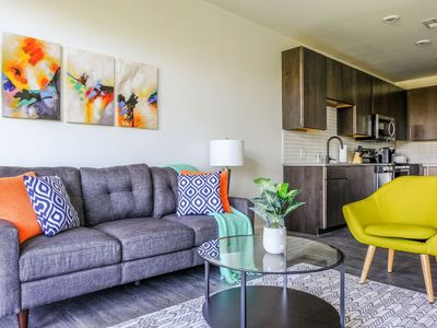 Photo for Arts + Community 1br Suite | Minutes to Downtown