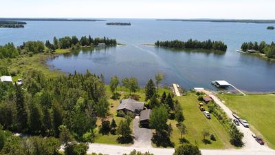 Photo for Newly remodeled home on Lake Huron within walking distance to downtown Hessel