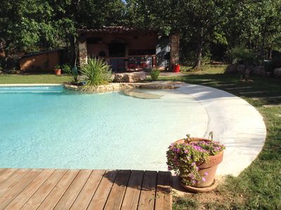 Photo for VILLA ANY COMFORT WITH SWIMMING POOL - VERITABLE HAVRE DE PEACE IN AUPS