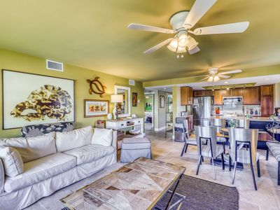 Photo for Stylish condo w/ water views, shared pool, tennis, & dock - snowbirds welcome!