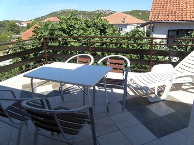 Photo for One bedroom apartment with terrace Jezera, Murter (A-11373-a)