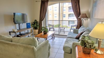 Photo for Spacious Condo at Resort Beside Disney - 2 Bedrooms, 2 Baths, Private Porch