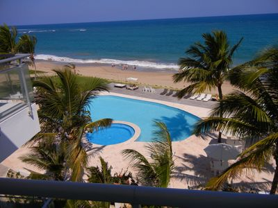 Photo for 3 Bedrooms Beachfront Penthouse Seawinds