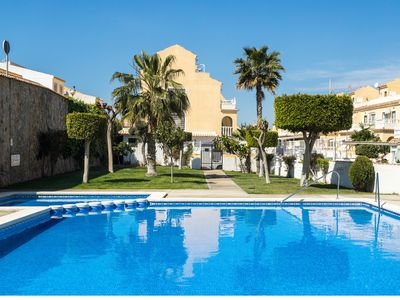 Photo for Sunny Townhouse, 6 people with large garden, roof terrace, 3 bedrooms, 2 bathrooms.
