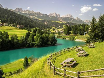 Photo for Panoramic apartment in the heart of the Dolomites
