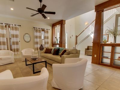 Photo for Spacious home w/ shared pool & tennis, close to seaside shopping & dining!