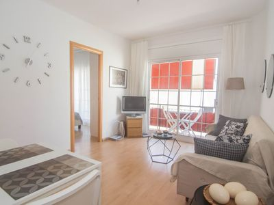 Photo for MIKES PLACE Practical and comfortable apartment with A/C and WIFI in Sitges.