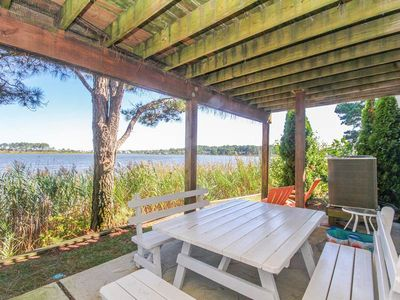 Photo for SP007: Water views from this 3BR Salt Pond TH - Community pool, tennis & golf!